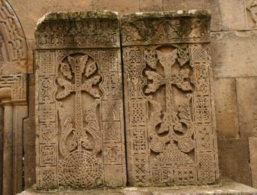 Kreuzsteine in Goschawank