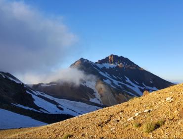 Aragats, Südgipfel (3893m)