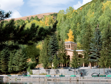 Jermuk spa city