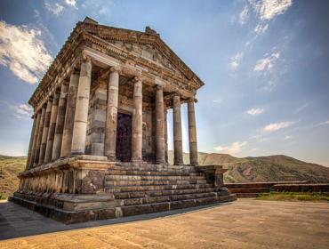 Garni pagan temple
