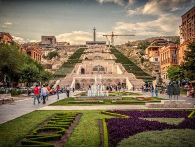 Yerevan, The Cascade, open-air museum