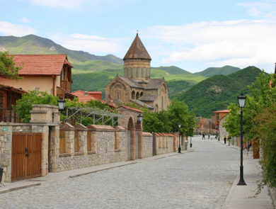 streets of Mtskheta, Georgia
