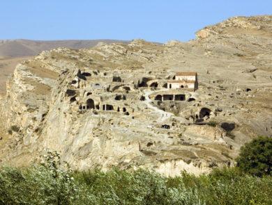 Old cave town Uplistsikhe