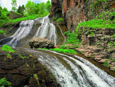 Mermaid's hair (Jermuk waterfall)