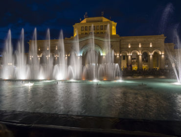 Republic square of yerevan