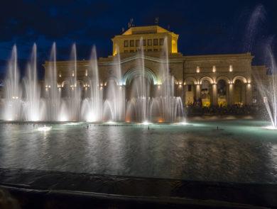 Republic square of yerevan