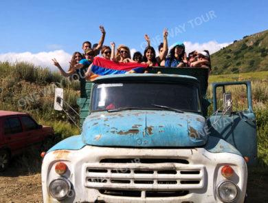 Lkw-fahrt und Wanderung zum Wasserfall Trchkan