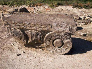 Tempelruinen von Zwartnots