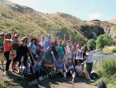 Поездка на грузовике к водопаду Трчкан