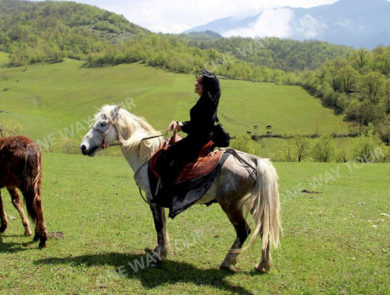 Reiten in Dilidschan