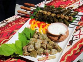 Фестиваль долмы, село Хнаберд