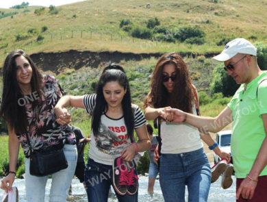 LKW-Fahrt zum Wasserfall Trchkan