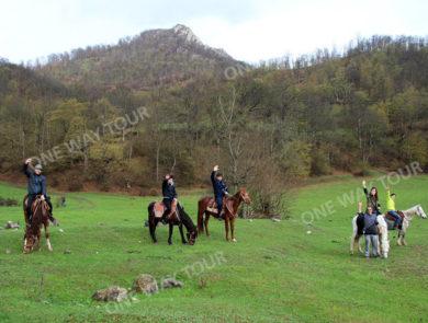 Horse riding Dilijan
