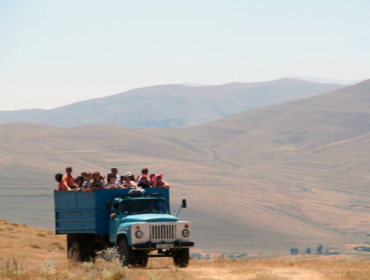 Truck tour to Trchkan Waterfall