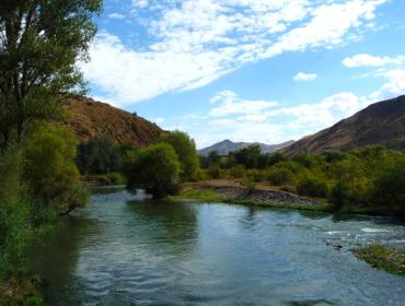 Der Fluss Arax