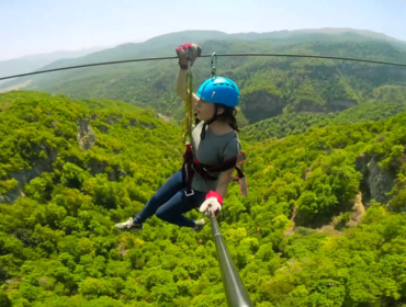 Zipline in Armenien