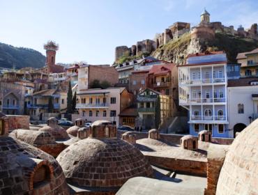 Schwefelbäder in tbilisi