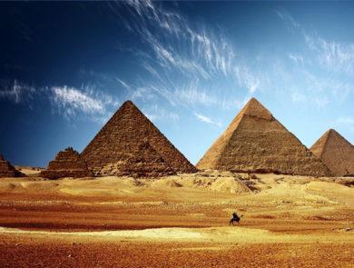 Еегипетские пирамиды