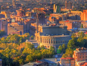 The pallete of Yerevan