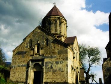 Haghartsin monastery complex - Surb Astvatsatsin church
