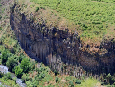 The Canyon of River Azat