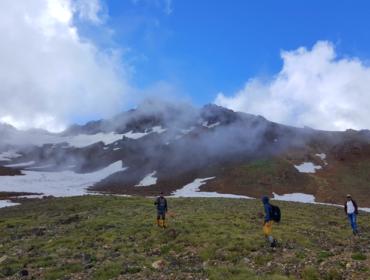 восхождение на северную вершину горы Арагац