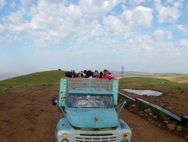 Fahrt zum Ajdahak
