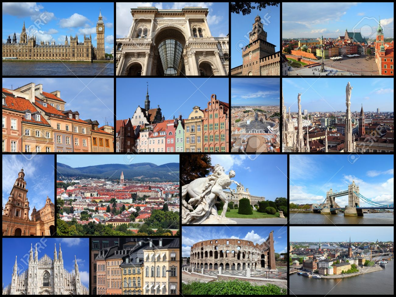 Best Cities For One Way Car Rental Europe