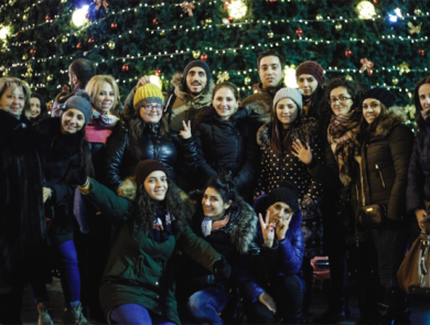 Счастливый Новый Год в Тбилиси