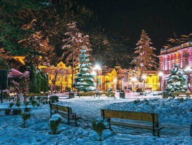 Neu Jahr in Borjomi