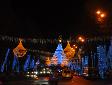 Christmas tree of Tbilisi