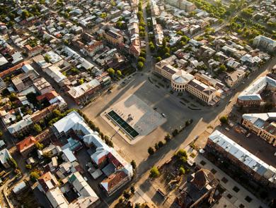 Vardanants Square, Gyumri