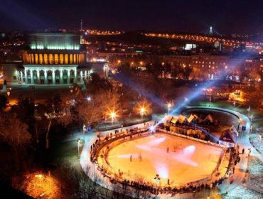 Jerewan am Abend