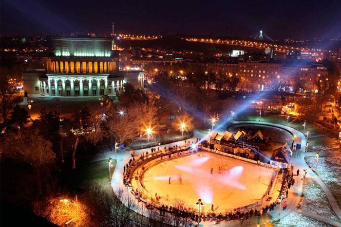 Вечерний Ереван (Лебединое Озеро)
