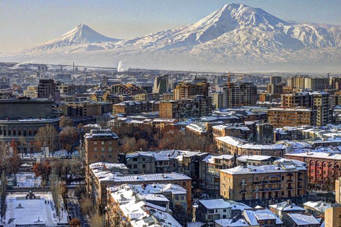 отдых зимой в Армении