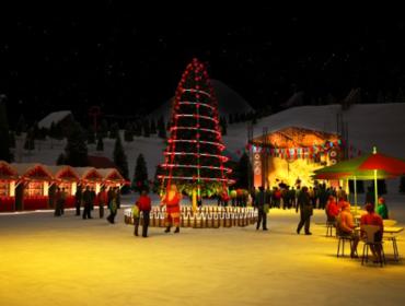 Новый год в Бакуриани