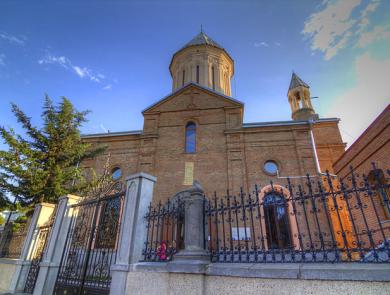 New Ejmiatsin church