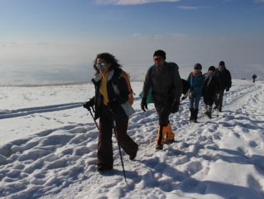 Besteigung zum Berg Hatis