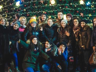 Das Neu Jahr Fest 2017 in Georgien