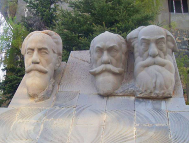 Orbeli brothers' monument