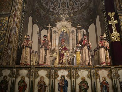 Divine Liturgy in Mother Cathedral