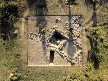 Ausgrabungsstätte in Odzaberd