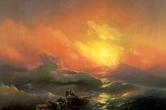 Այվազովսկու «Իններորդ ալիք» կտավը