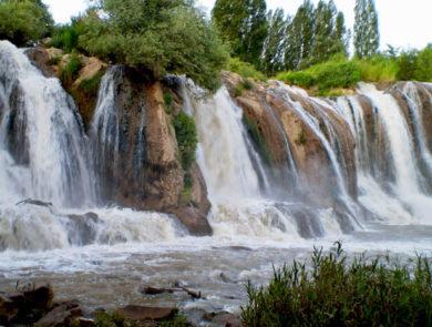 Berkri waterfall