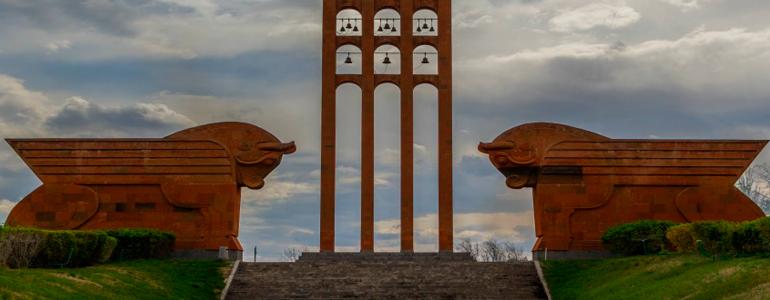 May holidays parade in Armenia
