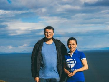 В Гарни с Александром Левитасом