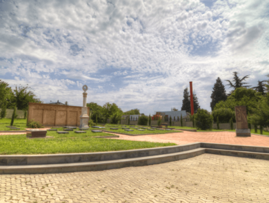 Khojivank pantheon