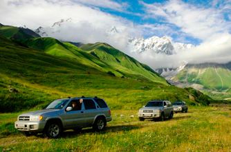 Die Strassen in Armenien