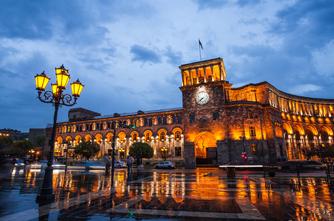 Abendstimmung in Jerewan