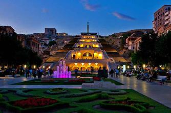Evening Yerevan